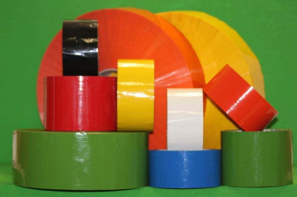 """Скотч цветной  """"Цветная упаковочная самоклеящаяся лента """" 48мм*66м*52мк."""